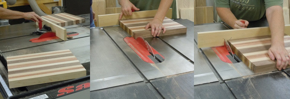 Making Cutting Boards