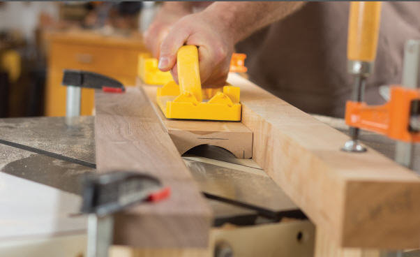 Coving On The Tablesaw