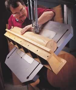 Auxiliary Band Saw Table