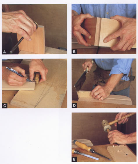 Making Hand-Cut Half-Blind Dovetails
