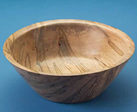 Faceplate Turning Simple Bowl