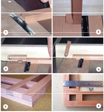 Mission Style Frames Minus the Miters