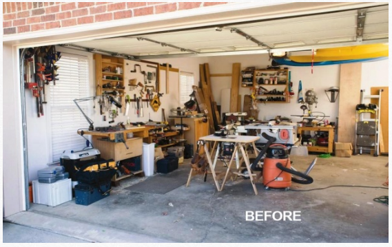 Extreme Garage Shop Makeover Part 1