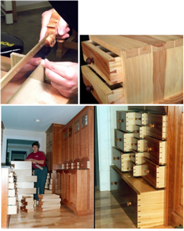 """Family First"""" Woodworker Maintains Old-Fashioned Values"""