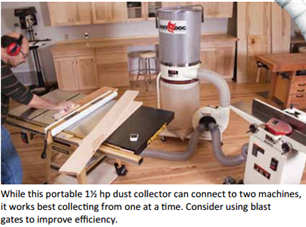 Small Shop Dust Collection