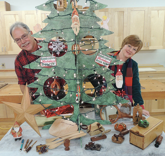 Discover Great Gift Ideas At Woodcraft With Scott Suzy Phillips