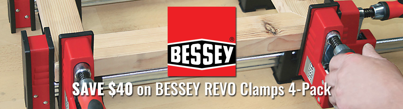 Save $40 On BESSEY REVO