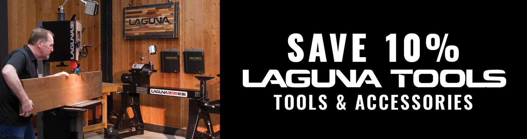Save 10% On Laguna Tools