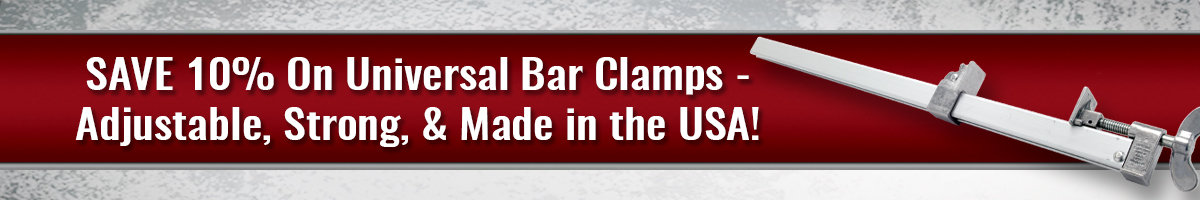 Save 10% Bar Clamps