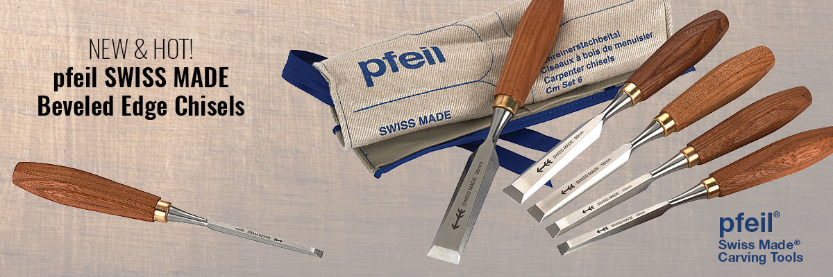 New pfeil SWISS MADE Chisels