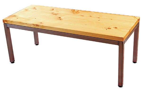 parson's-style coffee table