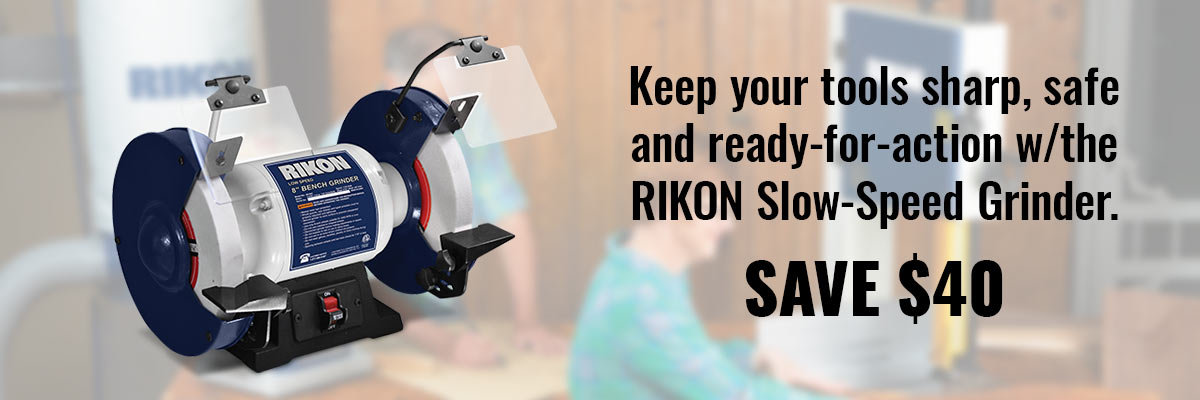 RIKON Slow-Speed Grinder $99.99