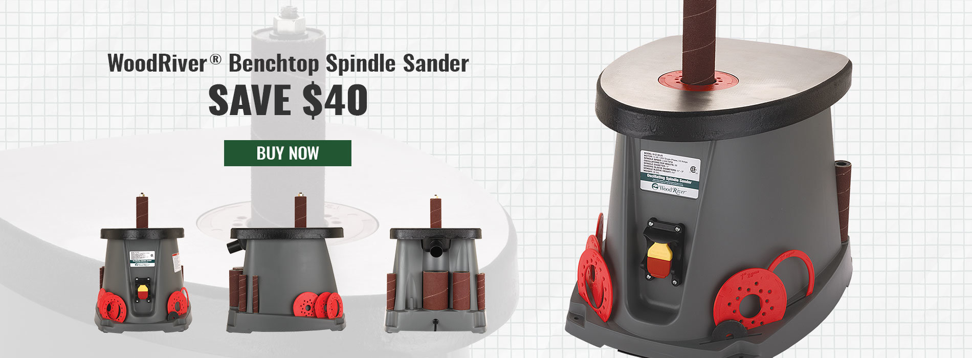 Spindle Sander On Sale $129.99
