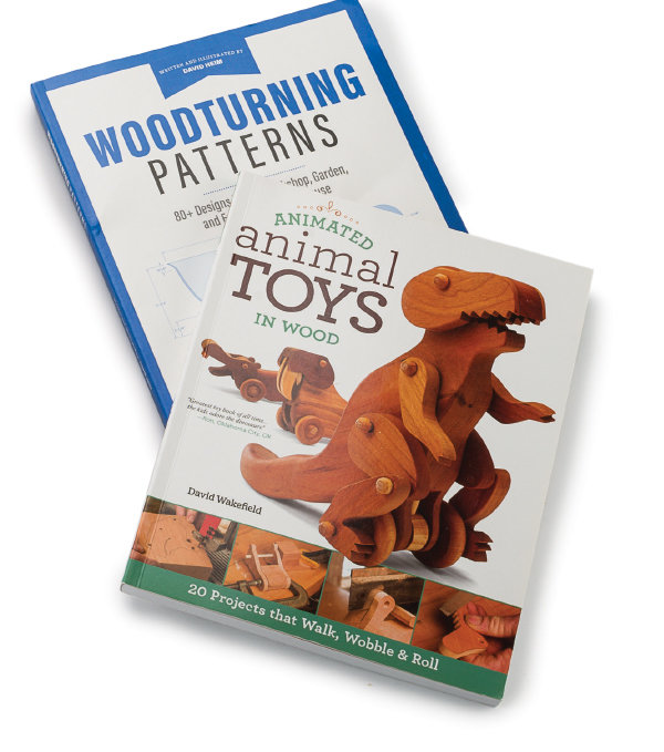 Animated Animal Toys, Woodturning Pattern