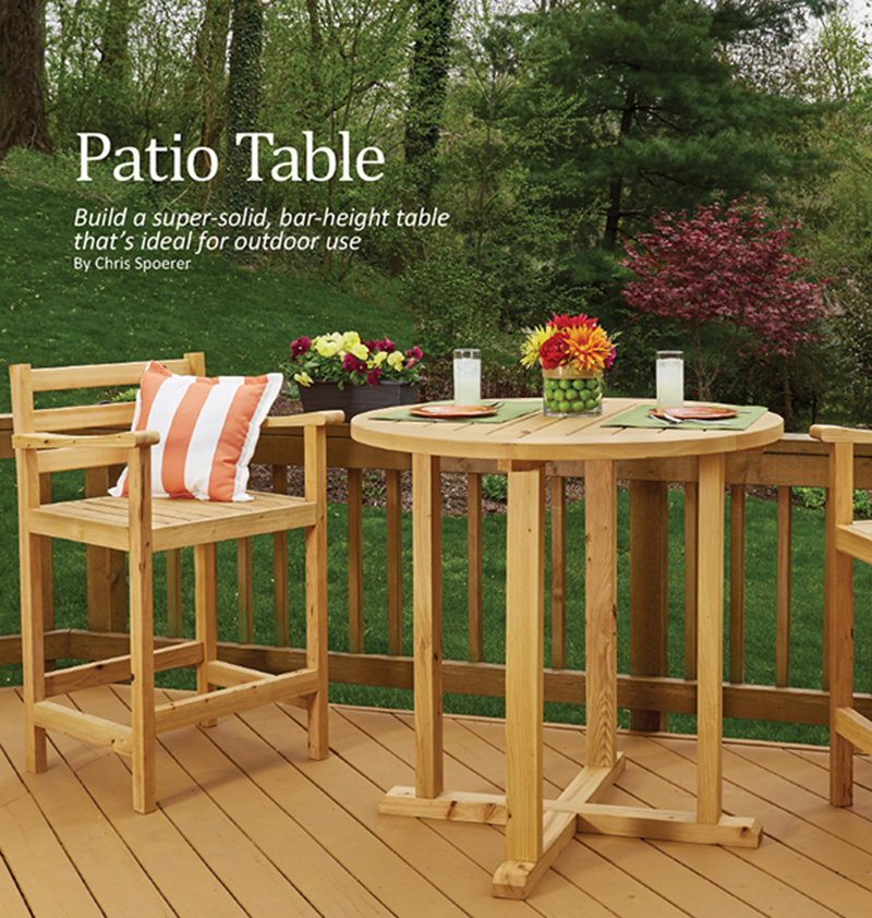 Patio table most outdoor furniture falls into one of two categories cheap junk thats lucky to make it to the following spring and better built furnishings that cost watchthetrailerfo