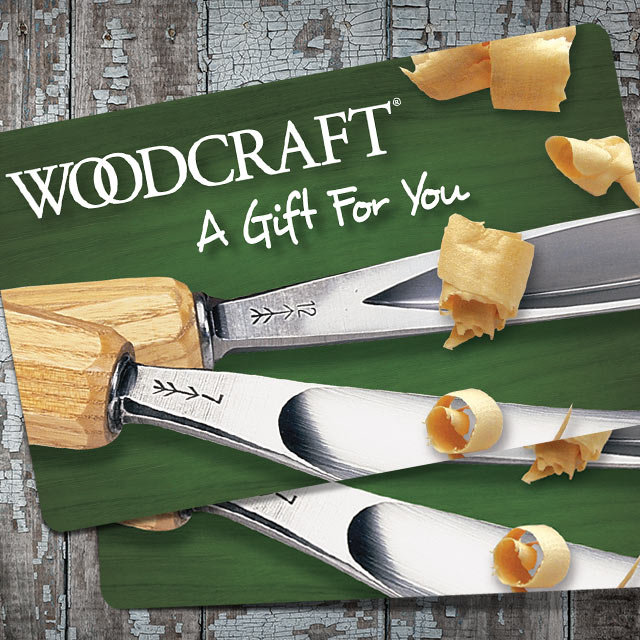 Woodcraft Gift Card