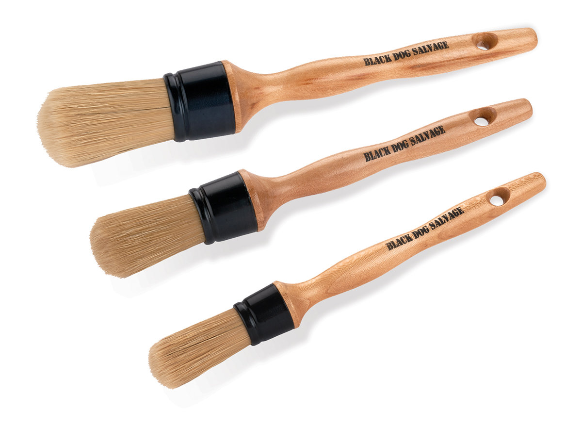 BDS Round Furniture Brushes