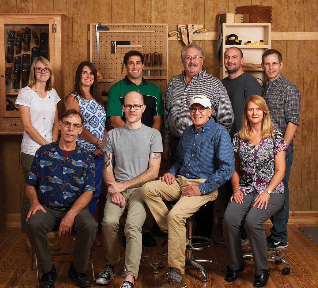 Woodcraft Magazine staff