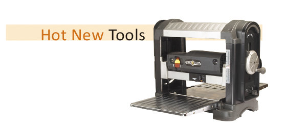 """Steel City 40200H 13"""" Portable  Planer with Helical Cutterhead"""