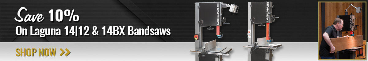 Save 10% on Laguna Bandsaws