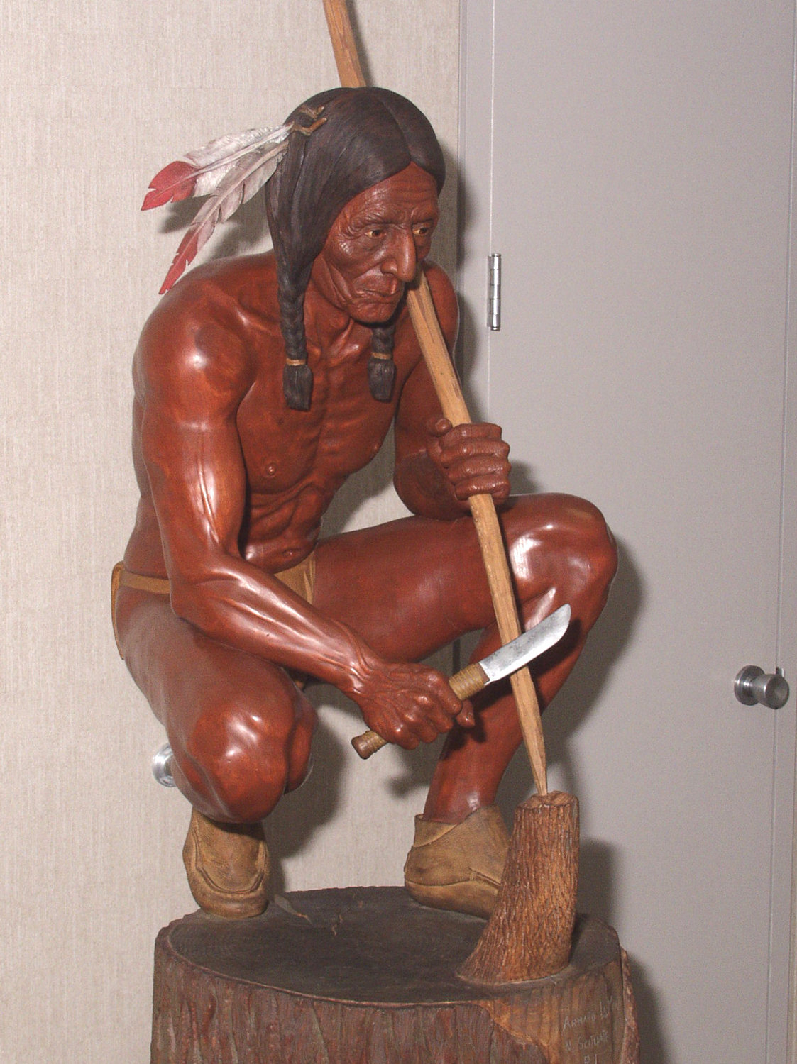 Woodcraft Indian