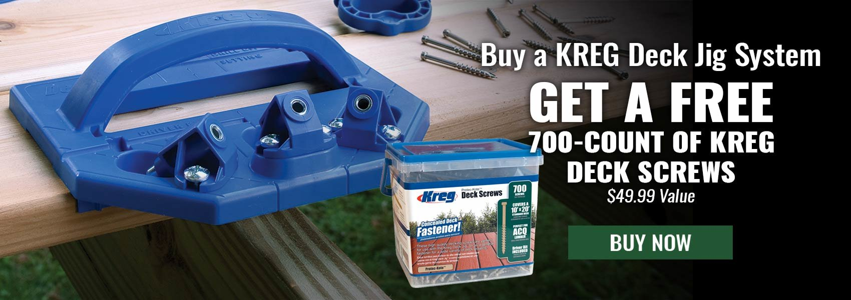 Kreg Deck Jig Special Offer