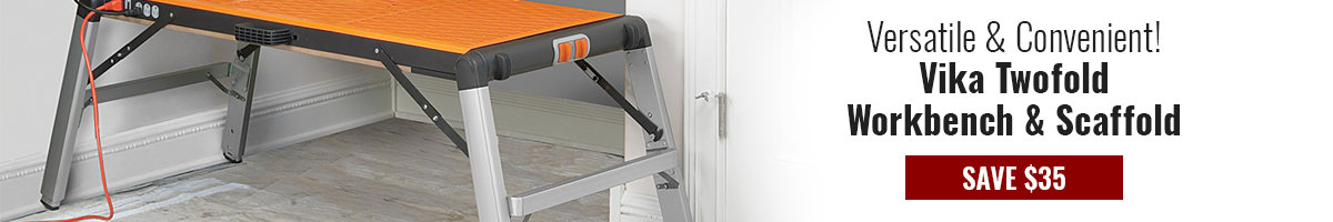 Save $35 on Vika Workbench and Scaffold