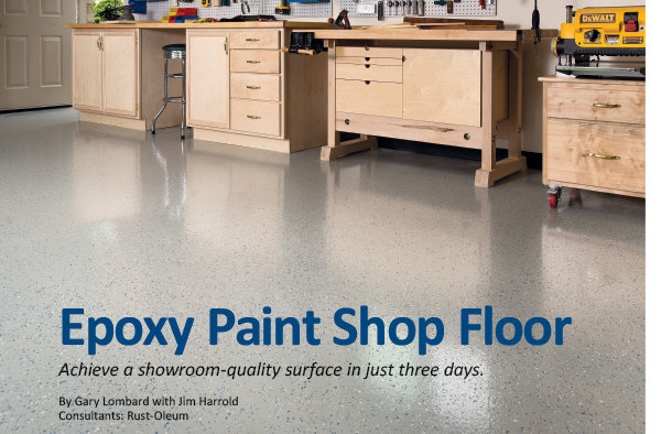 Epoxy Paint Floor Achieve A Showroom Quality Surface In Just Three Days