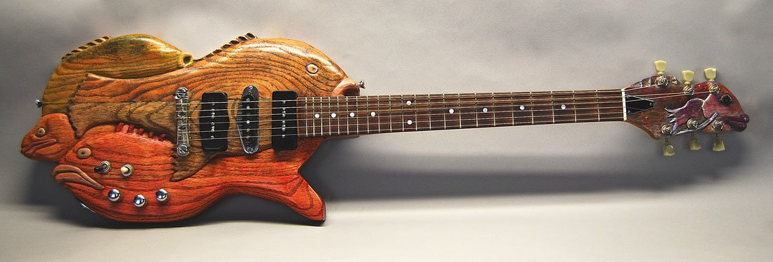 Fish Guitar by Billy Rhinehart