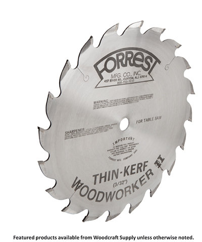 Forrest Woodworker II  20T Thin-Kerf Rip Blade
