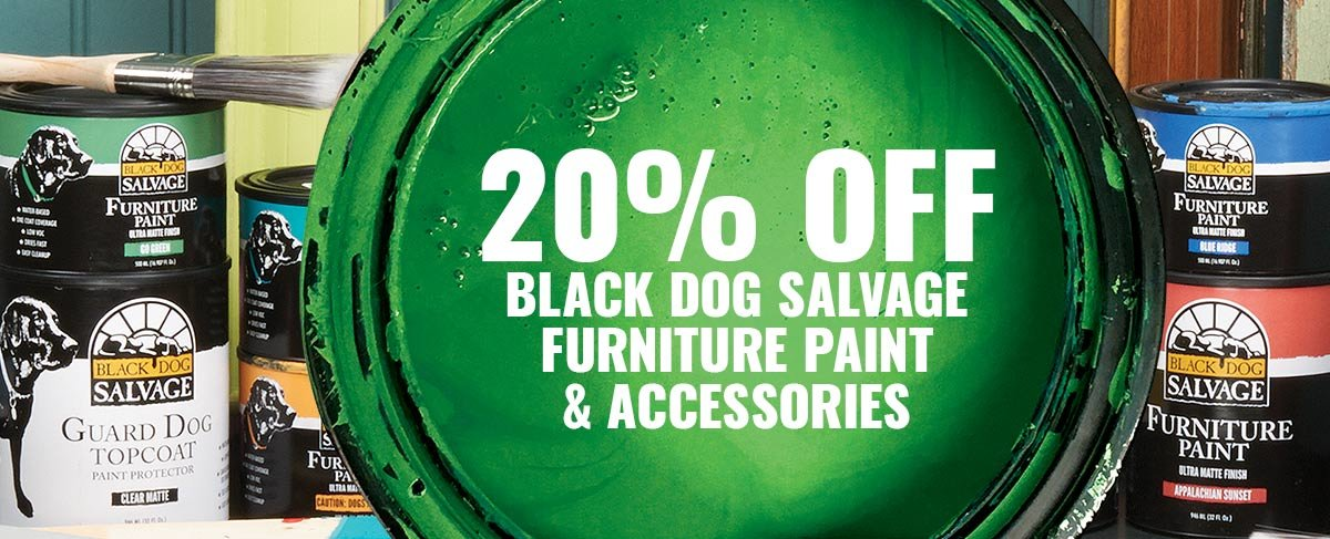 20% OFF Black Dog