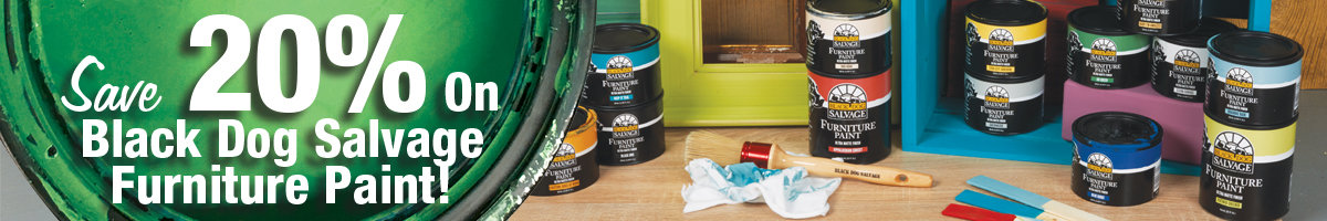 Save 20% Black Dog paint