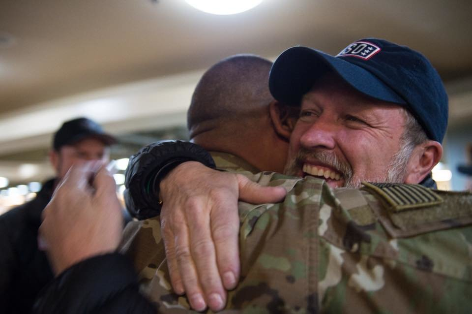 Craig Morgan USO Tour April 2018