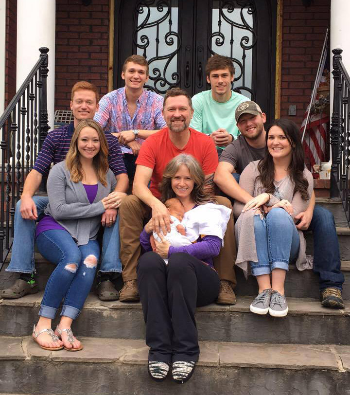 Craig Morgan family