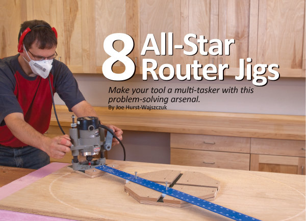8 All Star Router Jigs