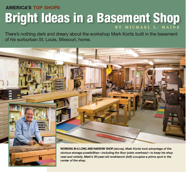 Bright Ideas In A Basement Shop