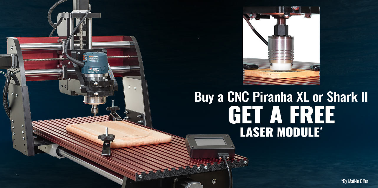 Free Laser Module with Select Purchase