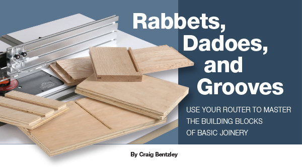 Rabbets Dadoes And Grooves