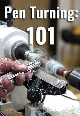 Pen turning 101