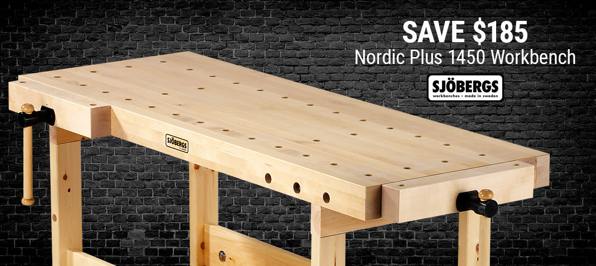 Save Over 30% On this Sjobergs Bench