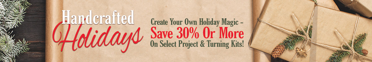 Handcrafted holidays save 30% or more