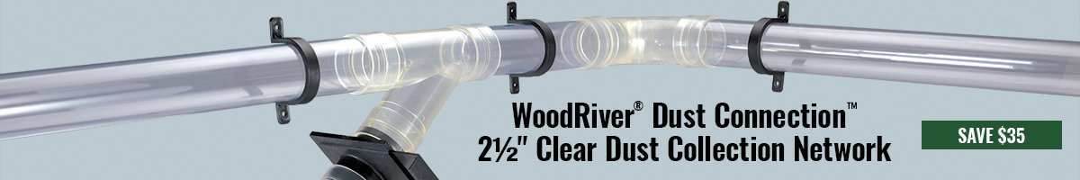 Save $35 on WoodRiver dust collection