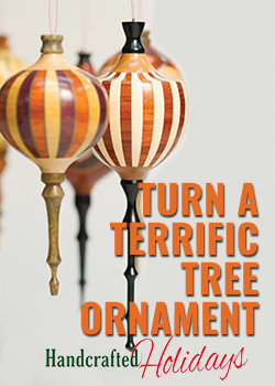 Turn a tree ornament