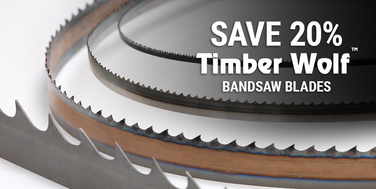 Save 20% on Timber Wolf Blades