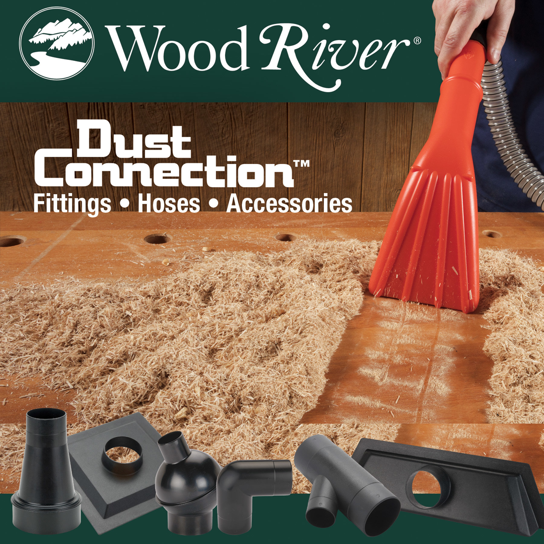 WoodRiver Dust Connection