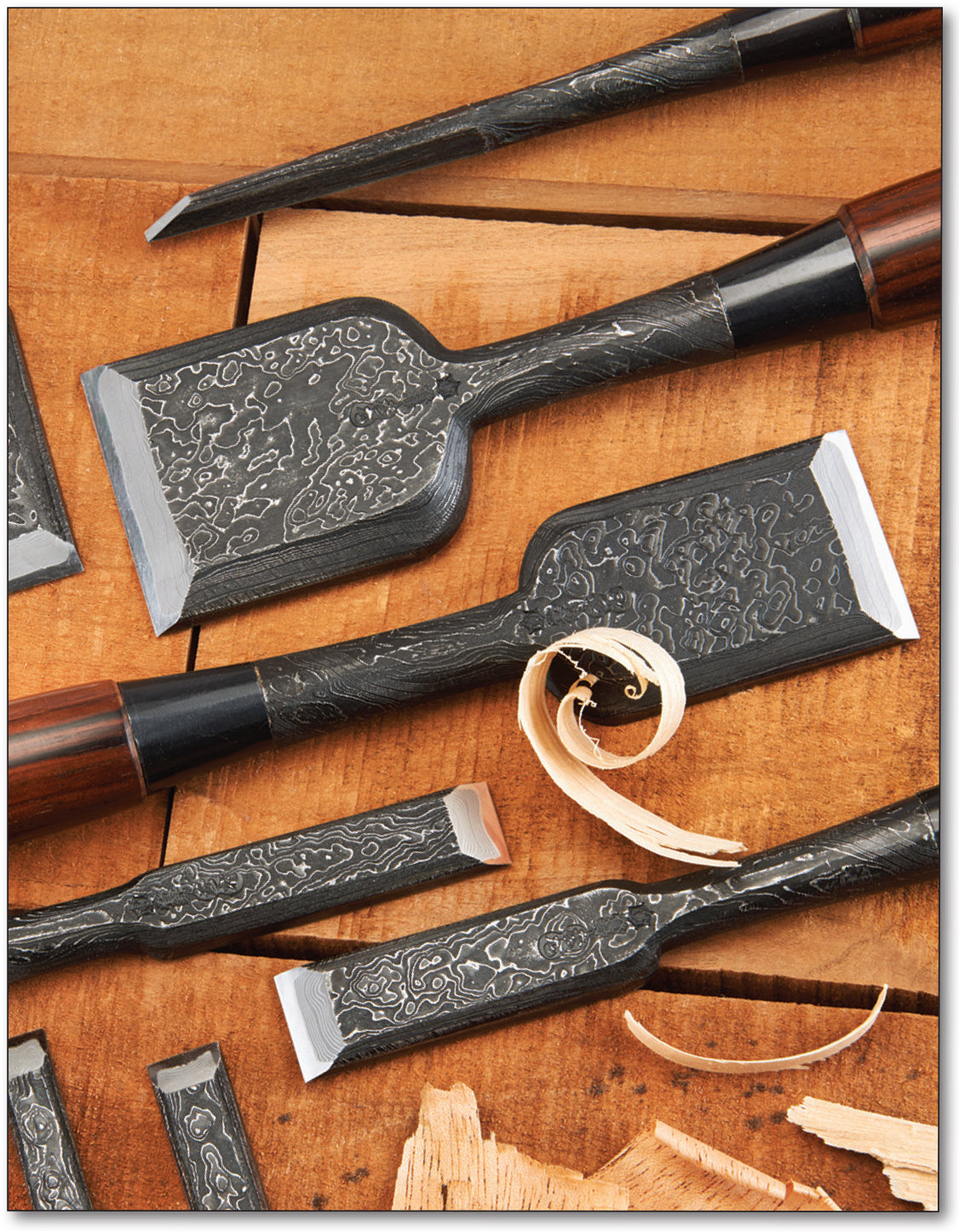Japanese Chisel Set