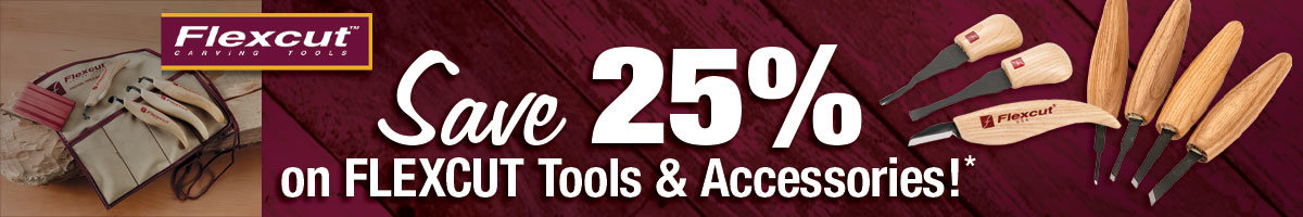 Save 25% on Flexcut tools and accessories