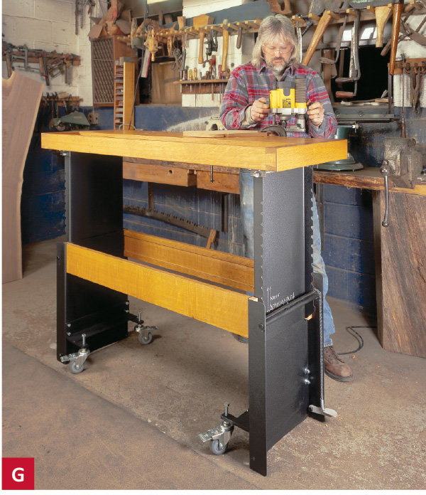 Choosing A Work Bench: Here's where woodworking get's personal