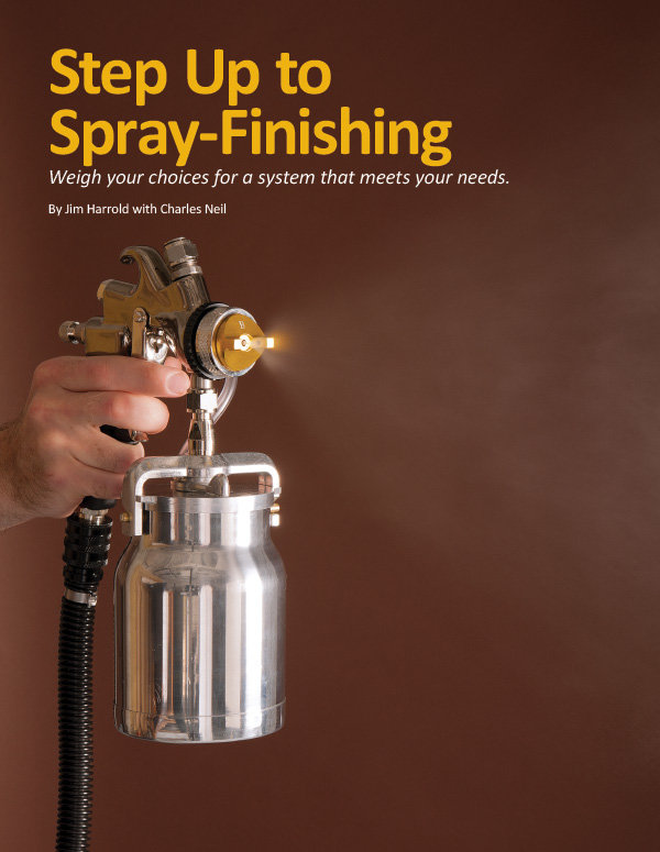 Spray-Finishing