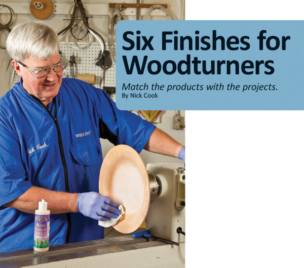 Six Finishes for Woodturners